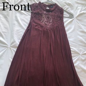 American eagle high necked dress